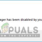 Cómo desactivar el Administrador de Tareas para el usuario estándar