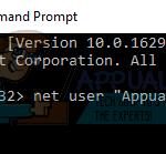 FIX: Su cuenta de Microsoft no fue cambiada a una cuenta local 0x80004005