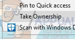"""Cómo añadir """"Take Ownership"""" al menú del botón derecho del ratón en el Explorador de Windows"""