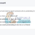 Cómo denunciar una cuenta falsa de Facebook
