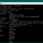 Cómo reducir el recuento de bloques reservados en unidades con formato ext4