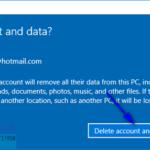 Cómo eliminar una cuenta de Microsoft de Windows 10