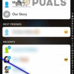 Cómo subir fotos o vídeos almacenados en su dispositivo para hacer un snapchat
