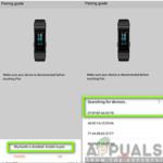 Arreglo: Huawei Band 3 Pro no puede conectarse al teléfono