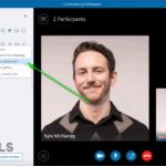 ¿Cómo nombrar a un presentador para una conferencia de Skype para empresas?