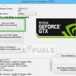 Corrección: la experiencia con GeForce no puede recuperar la configuración