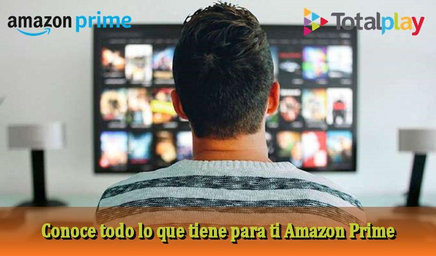 Amazon Prime internet - negocios