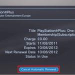 Cómo cancelar la suscripción a PlayStation Plus