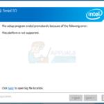 """FIX: """"Esta plataforma no es compatible"""" Mensaje de error al instalar el controlador Intel® Serial IO"""