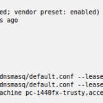 """SOLVED: """"Incapaz de inicializar la capa de auditoría: Permiso denegado"""" en libvirt-bin después de actualizar el Servidor Ubuntu 14.04 al Servidor Ubuntu 16.04"""