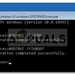Reparación: Reparación automática Su PC no se inició correctamente