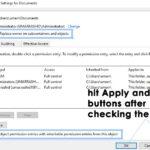 Arreglar: Contactar con el administrador para obtener permiso
