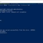 """Corrección: El estado actual del espacio de ejecución es """"Desconectado"""" en el Centro de Administración de Windows"""