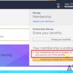 ¿Cómo se puede anular la suscripción o cancelar la membresía de Amazon Prime?