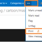 Guía paso a paso para imprimir correos electrónicos de Hotmail