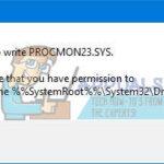 Arreglo: No se puede habilitar el inicio de sesión en el monitor de procesos en Windows 10