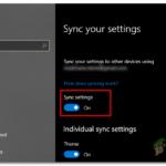 """¿Cómo corregir el error """"La sincronización no está disponible para tu cuenta"""" en Windows 10?"""
