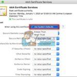 Arreglo: iTunes no puede verificar la identidad del servidor