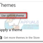 Cómo instalar temas personalizados de Windows 10