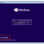 Corrección: Para usar Restauración del Sistema, debe especificar qué instalación de Windows para restaurar el error