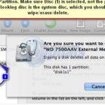 Cómo limpiar el disco duro externo de un Mac